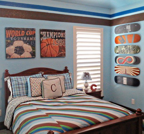 Best Sports Themed Children S Rooms And Parties With Pictures