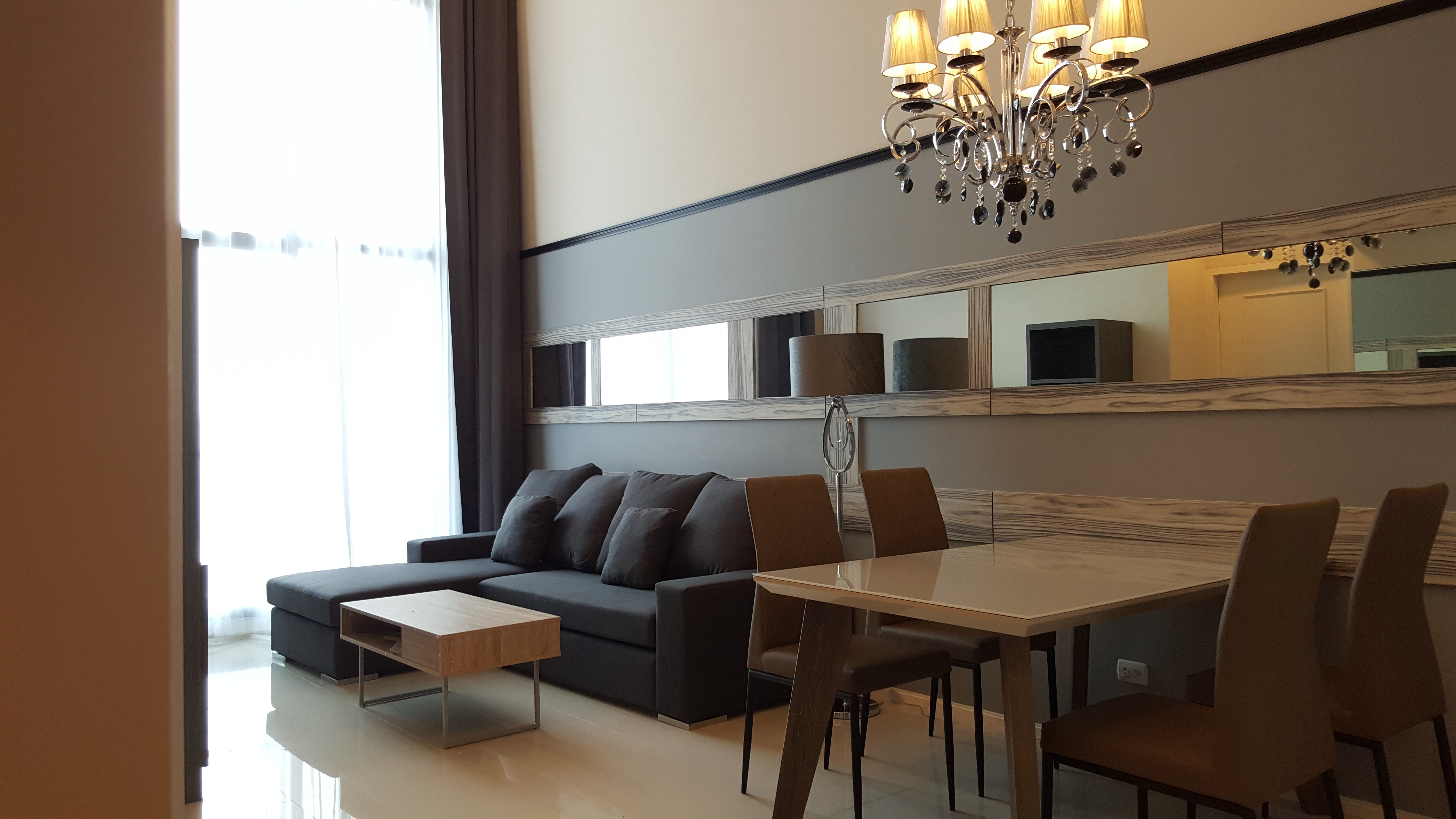 Best High Living Two Bedroom Duplex For Rent In Asoke Promove With Pictures