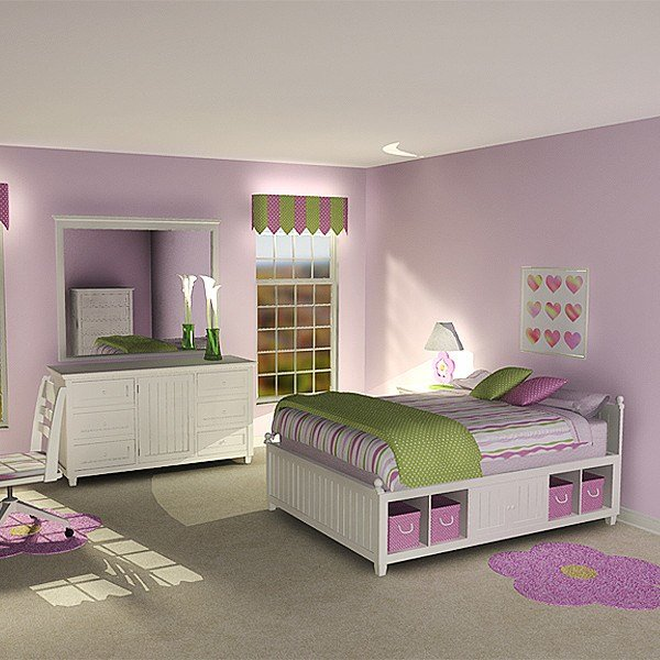 Best 3Dsmax Girl S Bedroom Suite With Pictures