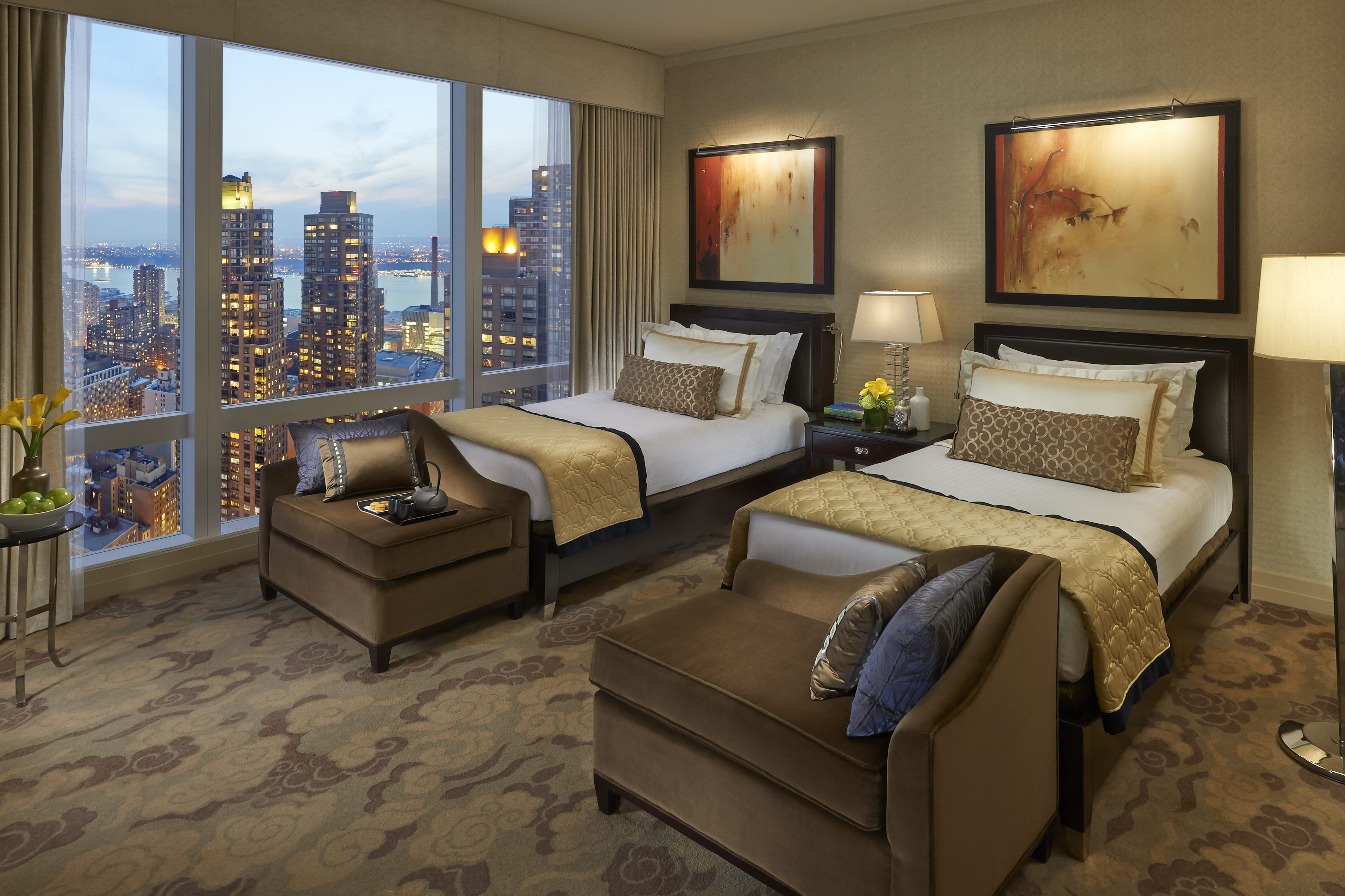 Best City View Hotel Rooms In New York City Mandarin Oriental New York With Pictures