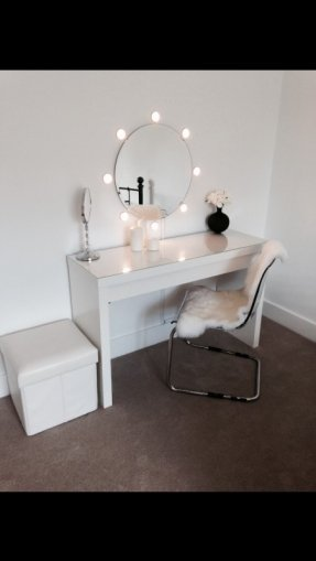 Best Vanities For Bedrooms With Lights And Mirror Foter With Pictures