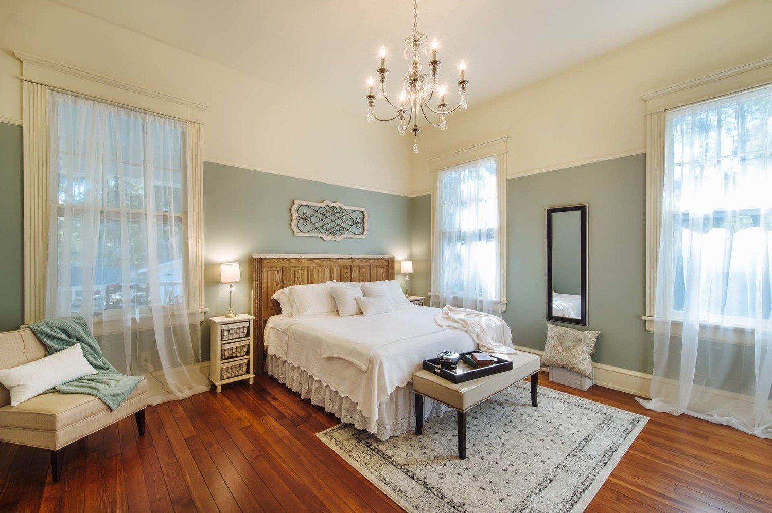 Best Master Bedroom Phantom Screens Southern Romance Idea Home With Pictures
