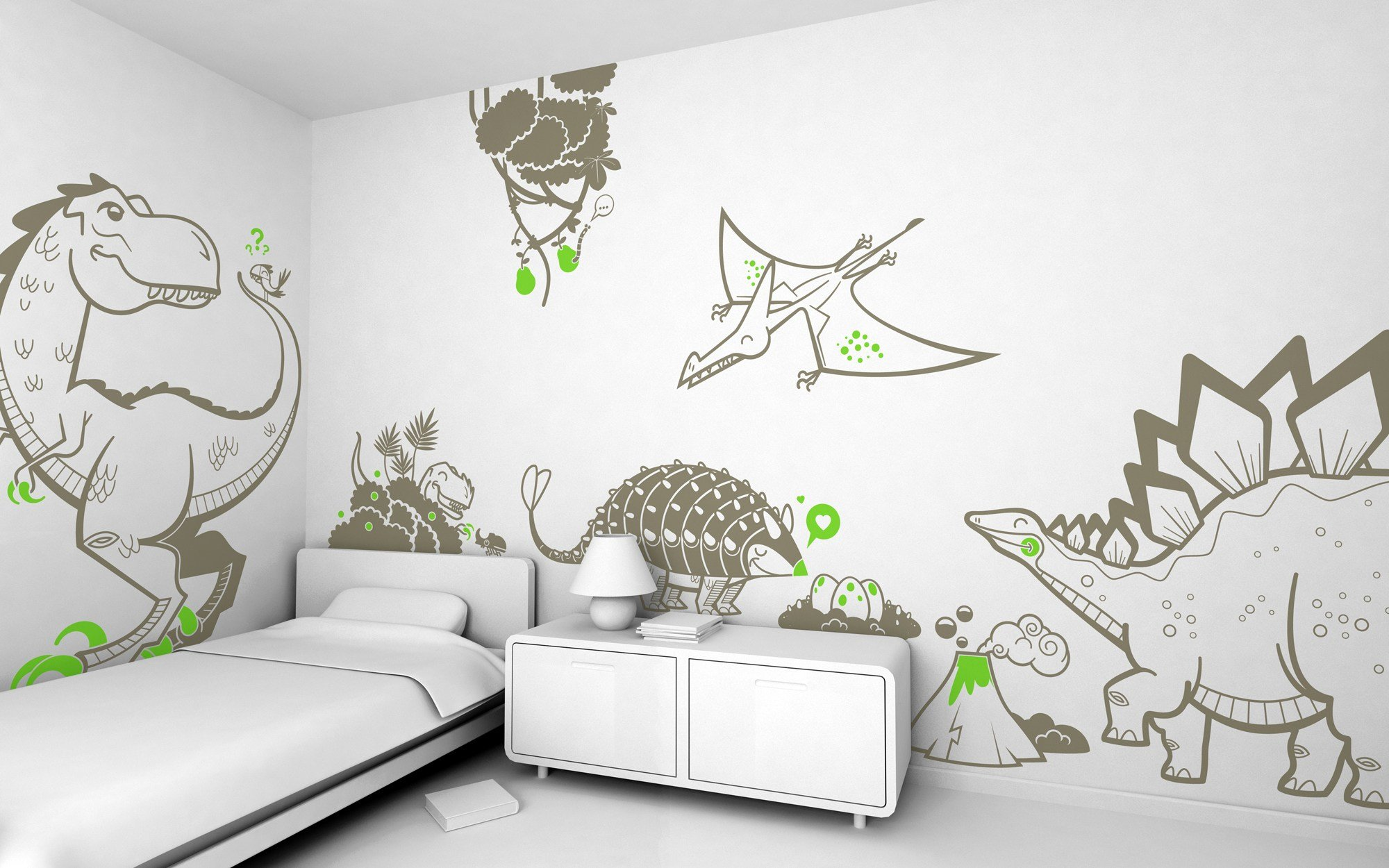 Best Giant Kids Wall Decals By E Glue Studio At Coroflot Com With Pictures