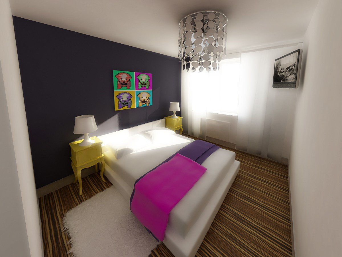 Best Bedroom In Pop Art Style By Nikita Zagurskii At Coroflot Com With Pictures