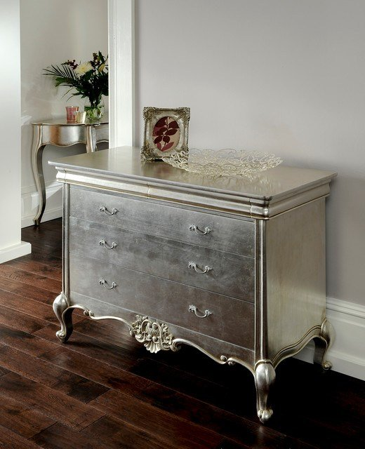 Best Cristal Silver Leaf French Furniture Eclectic With Pictures