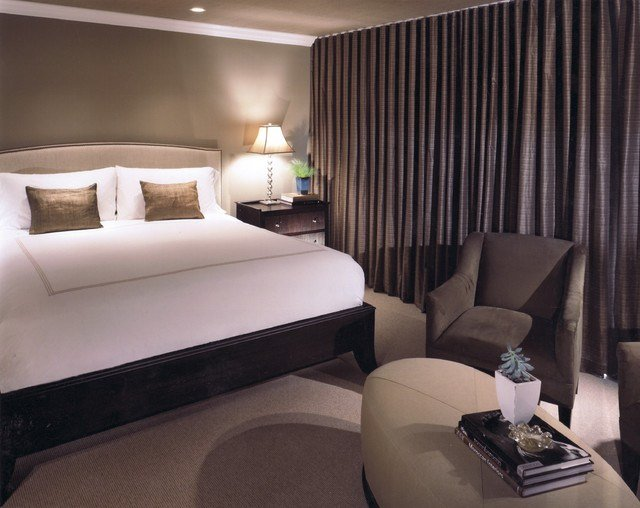 Best Hotel Inspired Luxury Transitional Bedroom New With Pictures