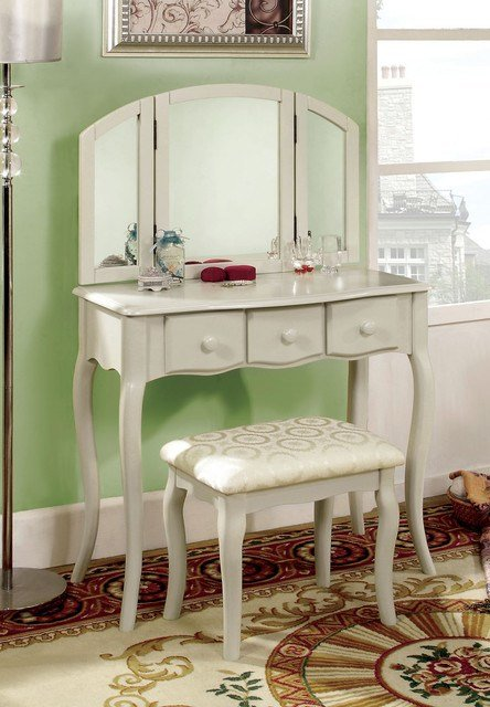 Best White Vanity Table Contemporary Bedroom Products Los With Pictures