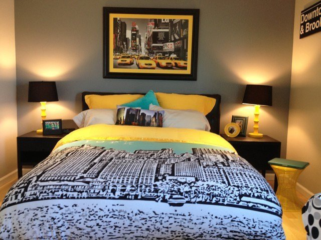 Best Nyc Inspired T**N Room Contemporary Bedroom New York By Chantel Renee Design With Pictures