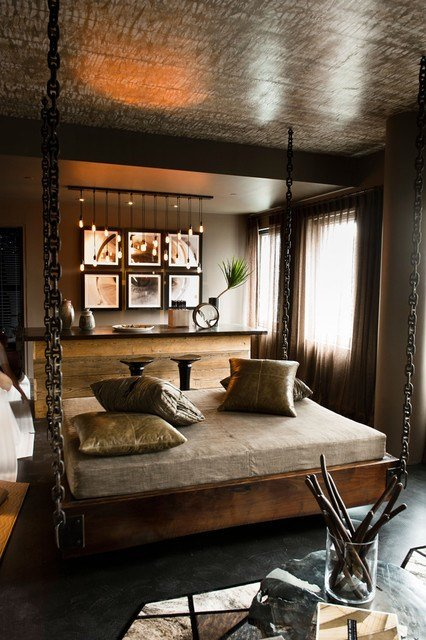 Best Charcoal Decores Industrial Bedroom With Pictures