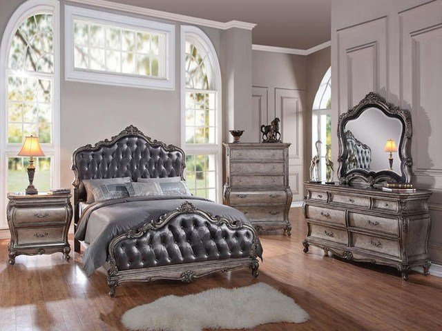 Best Traditional 5 Piece Granite Top Cal Or Estern King Bed With Pictures