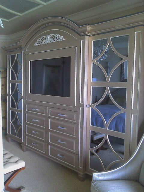 Best Custom Wall Units Naples Fl Mediterranean Bedroom Miami By Christi S Cabinetry With Pictures