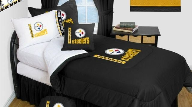 Best Pittsburgh Steelers Bedding Nfl Comforter And Sheet Set With Pictures