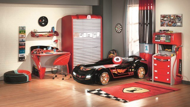 Best Need For Sleep Collection Kids Car Bedroom Eclectic With Pictures