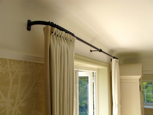 Best Curtain Pole Detail Traditional Bedroom London By Walk Interior Architecture Design With Pictures
