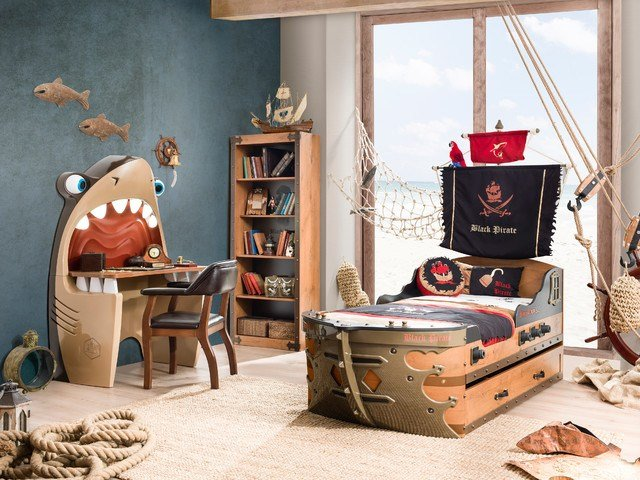 Best Pirate Ship Bedroom Beach Style Kids Miami By With Pictures