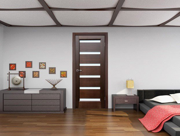 Best Bedroom Door Dark Wenge With Frosted Glass Contemporary Interior Doors New York By With Pictures
