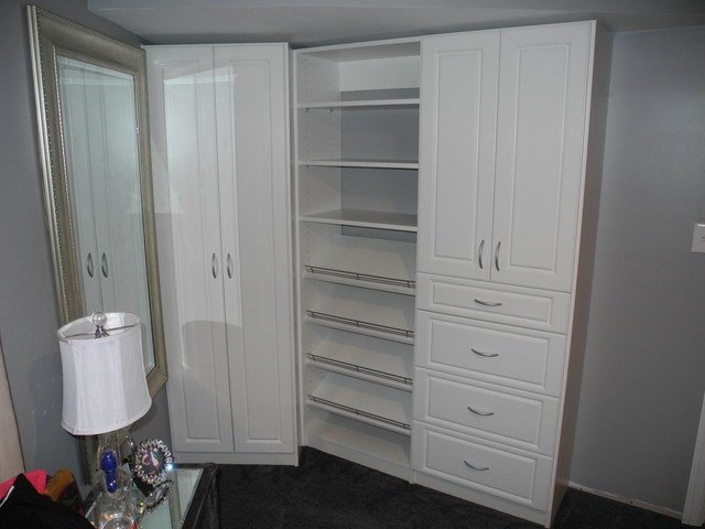 Best Bedroom Without A Closet Contemporary Closet Newark With Pictures