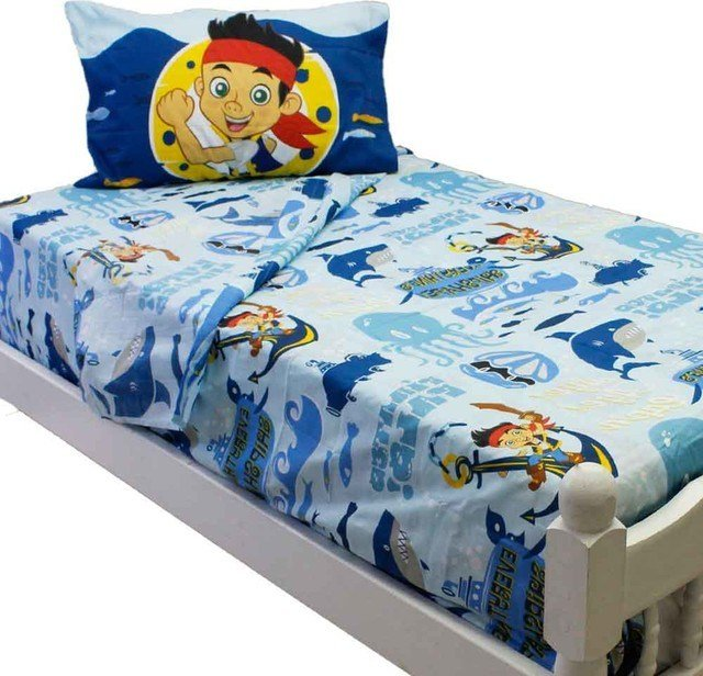 Best Jake Neverland Pirates Twin Sheet Set Sailing Waves With Pictures