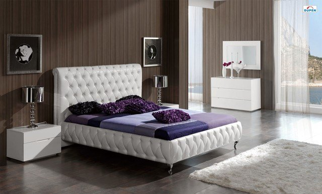 Best Stylish Leather Luxury Elite Bedroom Furniture With Pictures