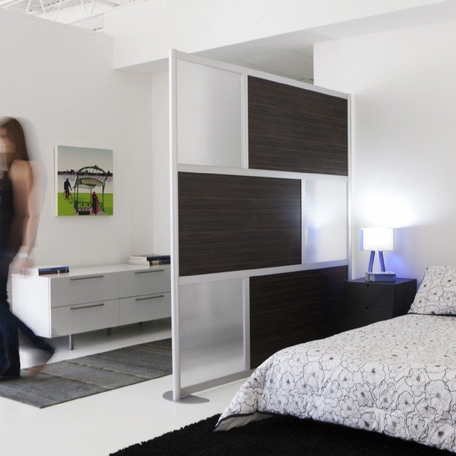 Best 6 Modern Privacy Screen Ebony Wood Modern Bedroom With Pictures