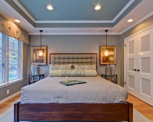 Best Bedroom Tray Ceiling Home Design Ideas Pictures Remodel With Pictures