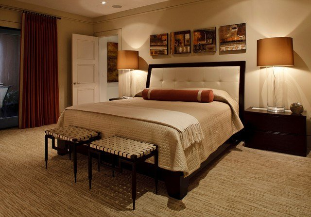 Best Warm Contemporary Contemporary Bedroom Jacksonville With Pictures