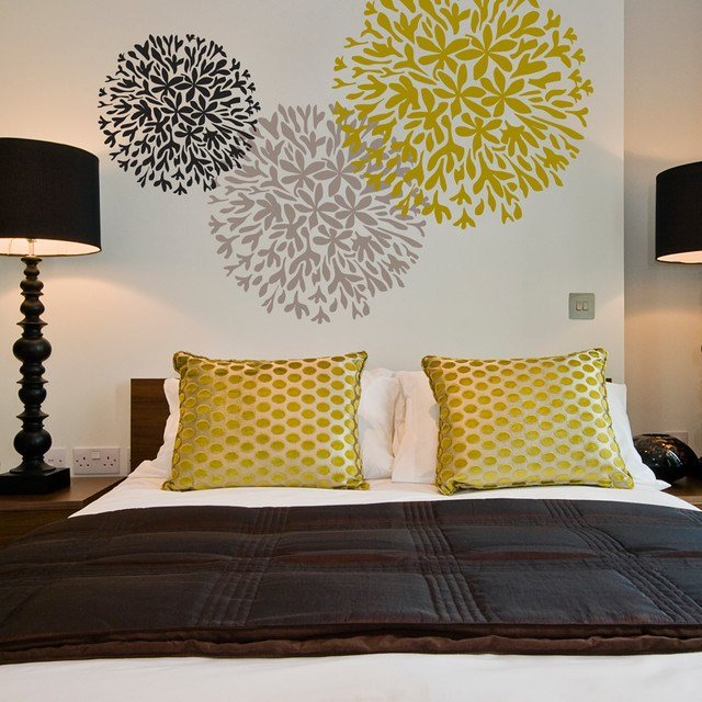 Best Allium Wall Stencil Motif Modern Wall Stickers East Anglia By Stencil Up With Pictures