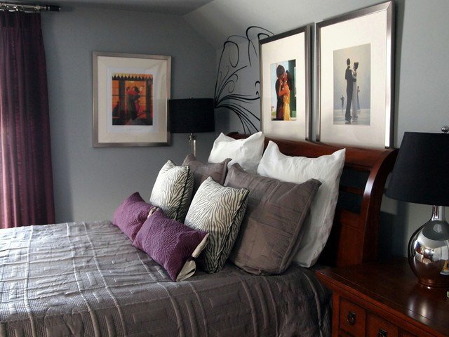 Best A Mans Master Bedroom Contemporary Bedroom With Pictures