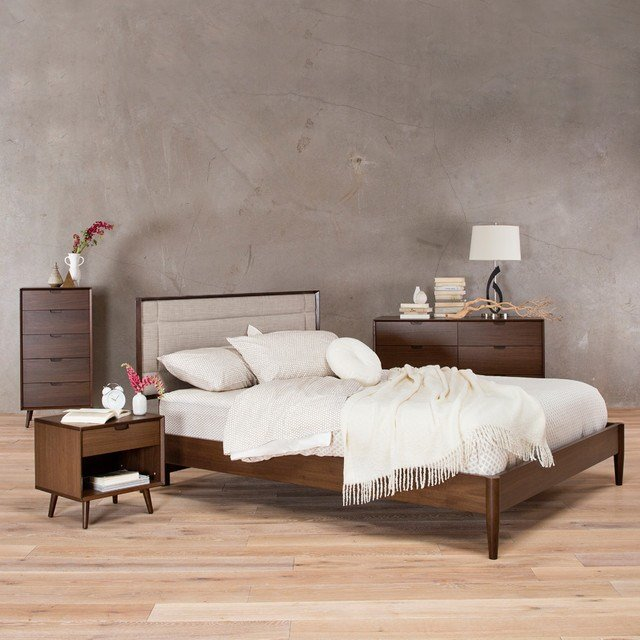 Best Juneau Bedroom Midcentury Beds San Francisco By With Pictures