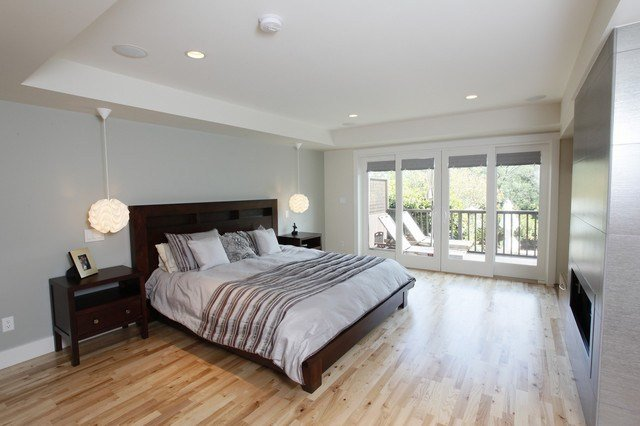 Best Master Suite Build Out Contemporary Bedroom San With Pictures