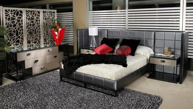 Best Elite Modern Lorin Bedroom Set Modern Bedroom With Pictures