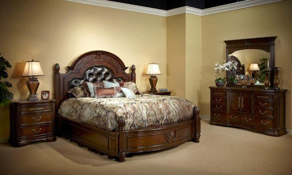 Best Villagio Bedroom Set Modern Bedroom Furniture Sets New York By Home Living Furniture With Pictures