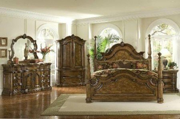 Best Pulaski Furniture San Mateo 7 Piece Poster Bedroom Set With Pictures