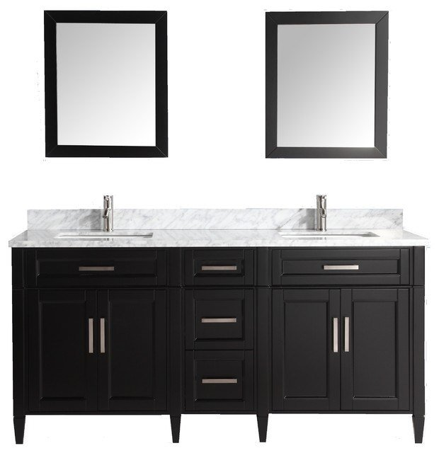 Best Vanity Art 72 Bathroom Vanity Set With Carrara Marble With Pictures