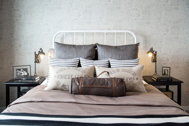 Best Great Gatsby Style Transitional Bedroom Calgary By With Pictures