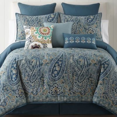 Best Cheap Jcpenney Home Belcourt 4 Pc Comforter Set Now With Pictures