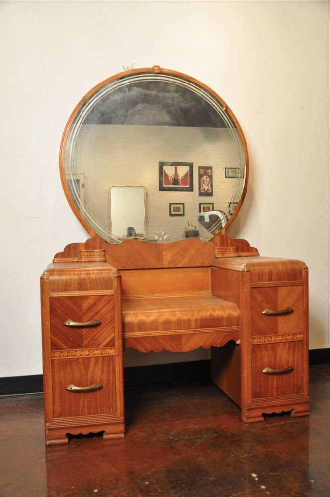 Best Vintage Bedroom Set Vanity Dresser With Pictures