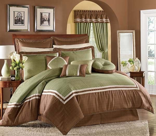 Best Green And Brown Bedroom Decorating Ideas For The House Pinterest With Pictures