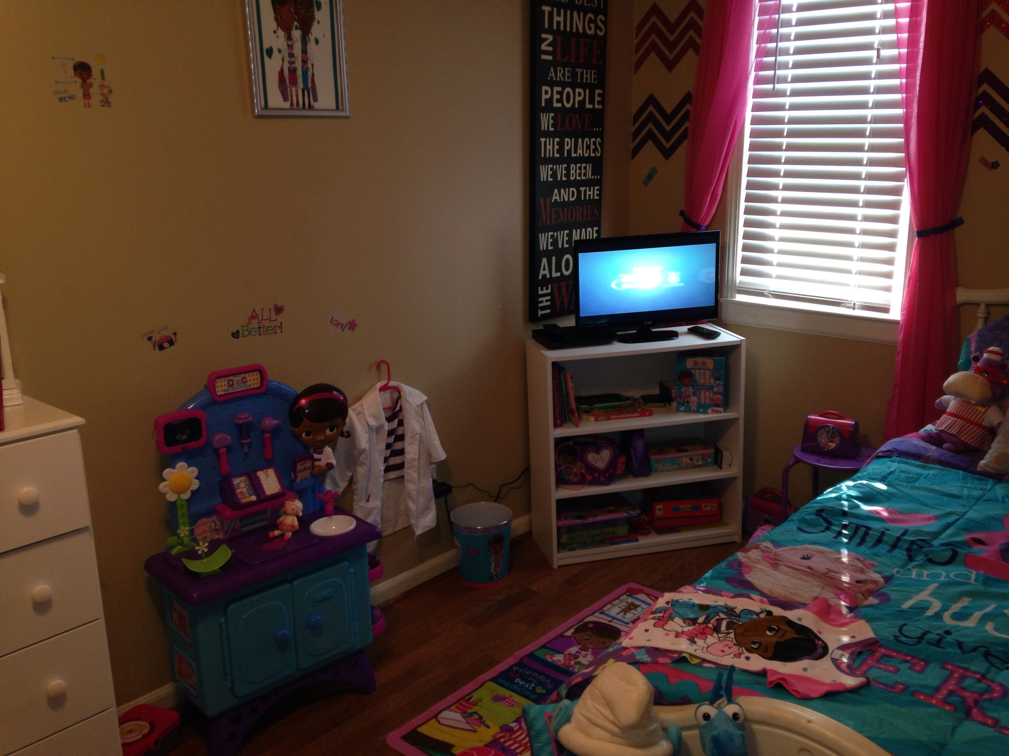 Best Doc Mcstuffins Room Doc Mcstuffins Bedroom Pinterest With Pictures