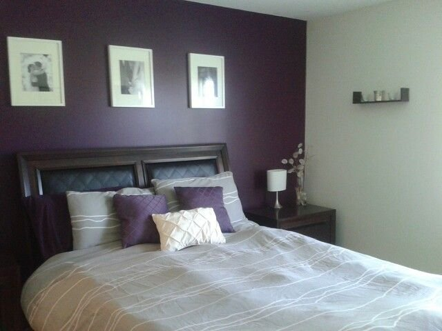 Best Plum And Grey Master Bedroom Home Decor Pinterest With Pictures