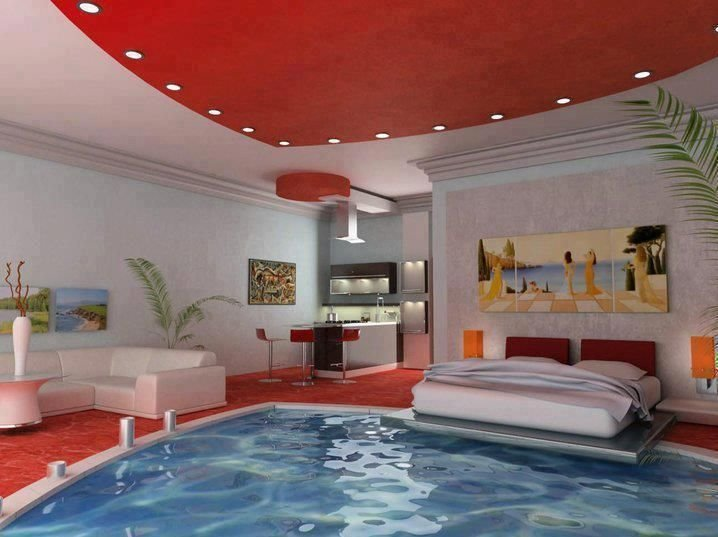 Best Swimming Pool Bedroom Beds Pinterest With Pictures