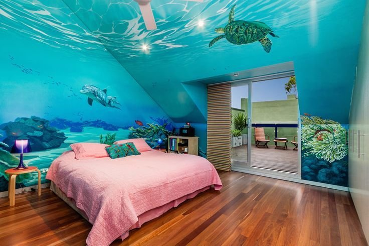 Best Under The Sea Bedroom Walls How Cool Nursery Kids With Pictures