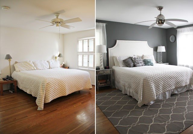 Best Master Bedroom Makeover Before After Decor More With Pictures