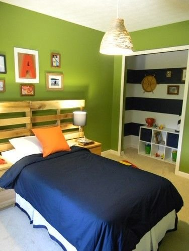 Best Navy Blue Lime Green And Orange Boys Bedroom Pinterest With Pictures