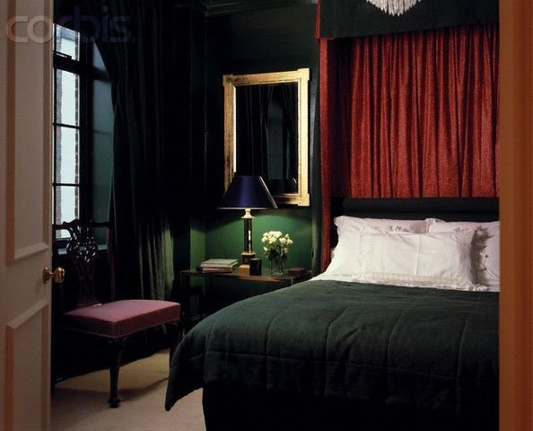 Best Dark Green Traditional Bedroom S*X**L Interior Pinterest With Pictures