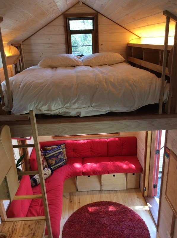 Best Handmade Tiny House With Self Built Woodstove Is Home To With Pictures