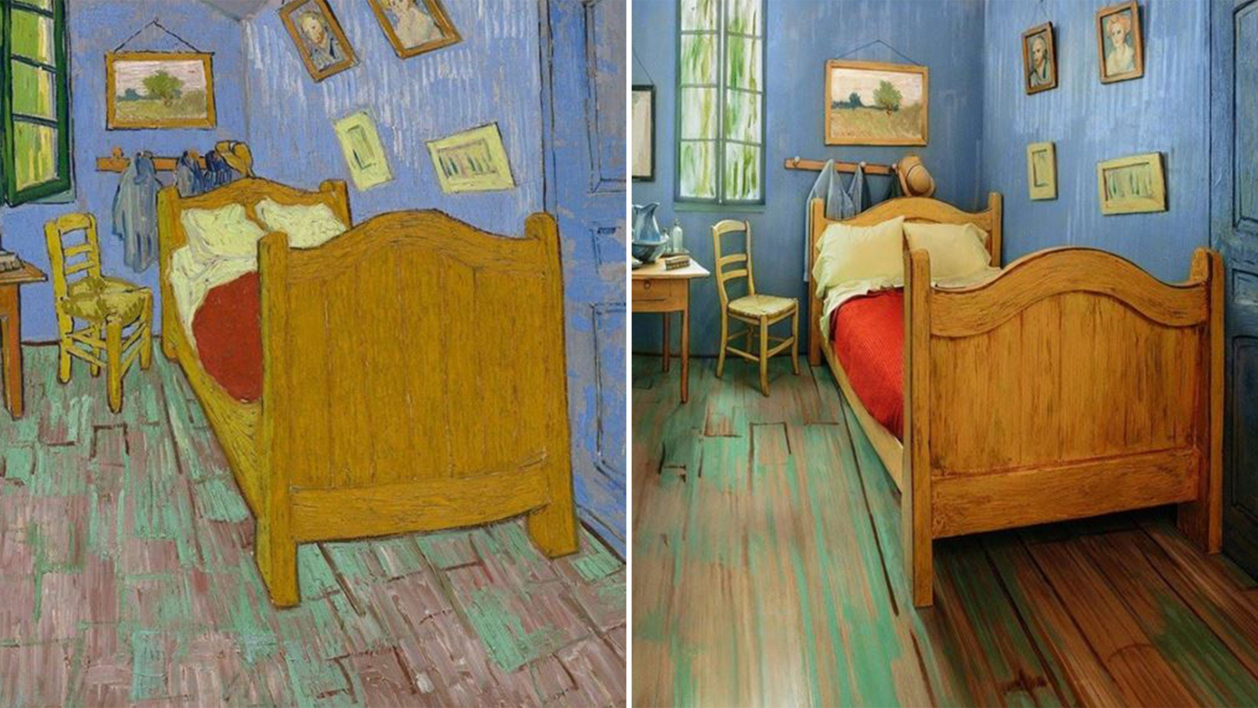 Best The Art Institute Of Chicago Recreates Van Gogh S Bedroom With Pictures