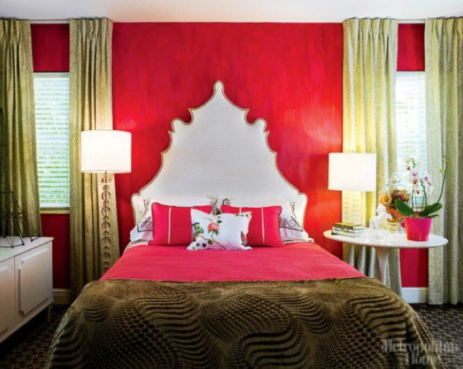 Best Shockingly Bright Red Walls May Not Be The Most Common With Pictures