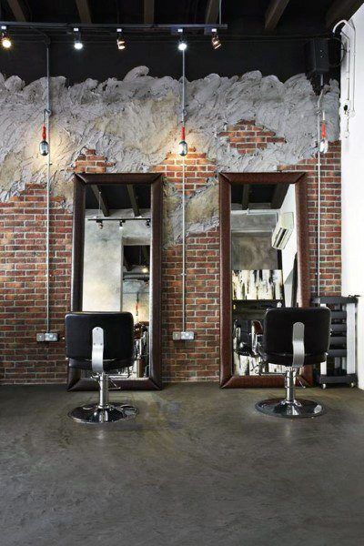 Best Top 80 Best Barber Shop Design Ideas Manly Interior Decor With Pictures