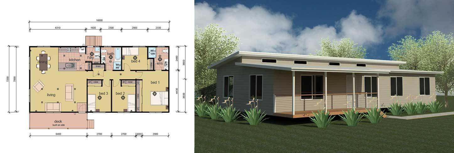Best The Balson 4 Bedroom Modular Home Parkwood Homes With Pictures